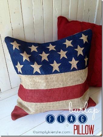 国旗枕头标题