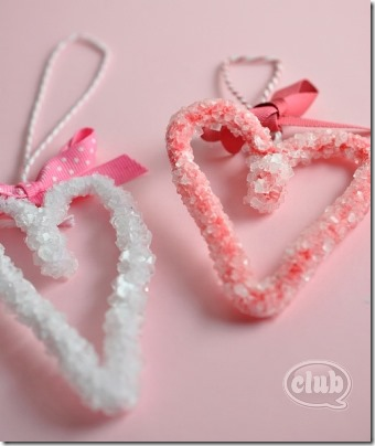 Borax Crystal Hearts from Club Chica Circle