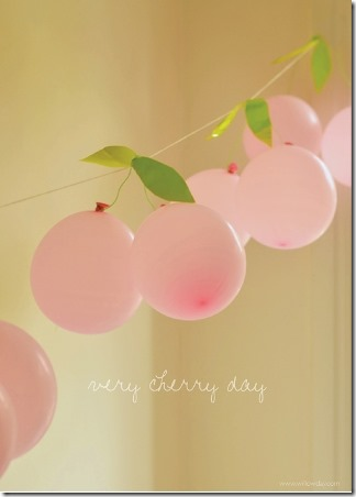 Cherry Garland by Willow Day