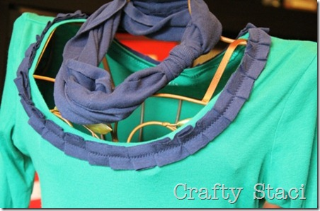 Long Sleeved Shirt Refashion - Crafty Staci 13