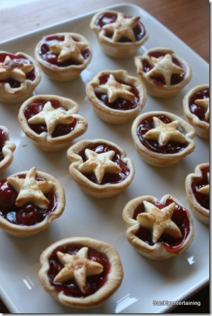 Cherry Tarts by Frankly Entertaining
