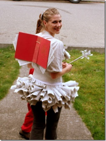Book Fairy Costume by Lilliedale