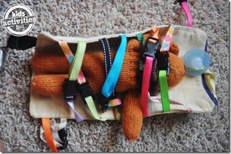 儿童活动的DIY剪辑玩具