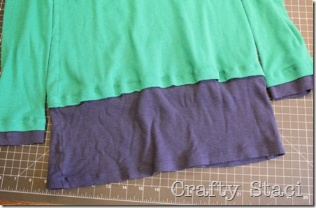 Long Sleeved Shirt Refashion - Crafty Staci 6