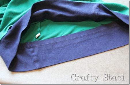 Long Sleeved Shirt Refashion - Crafty Staci 7