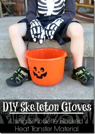 DIY Skeleton Gloves by Eat Sleep Make