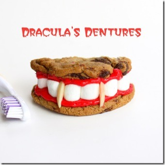 Dracula's Dentures from The Girl Who Ate Everything