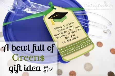 一碗充满绿色的达令涂鸦设计