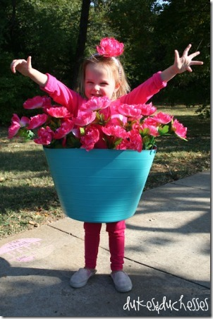 Flower Pot Costume by Dukes and Duchesses
