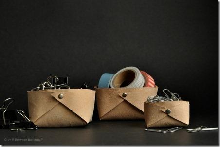 折叠皮篮之间
