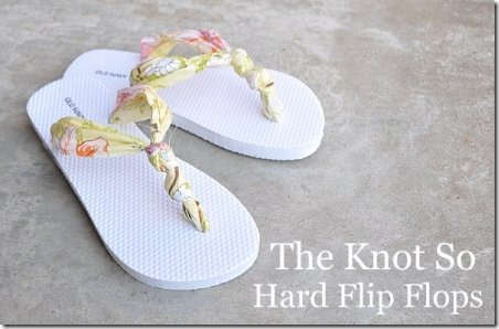 Knot So Hard Flip Flops - The Mother Huddle