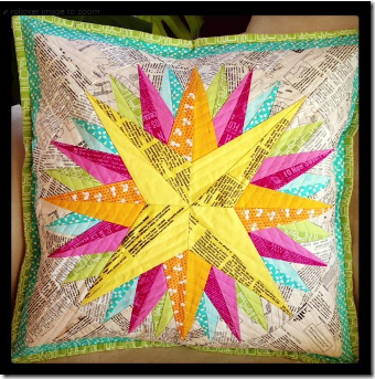 Kaleidoscope Mariners Compass from Craftsy