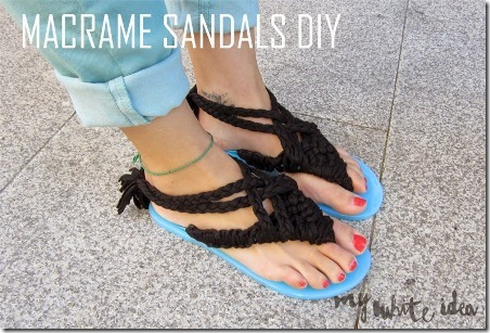 Macrame Sandals - My White Idea