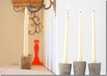 homemade-concrete-candles