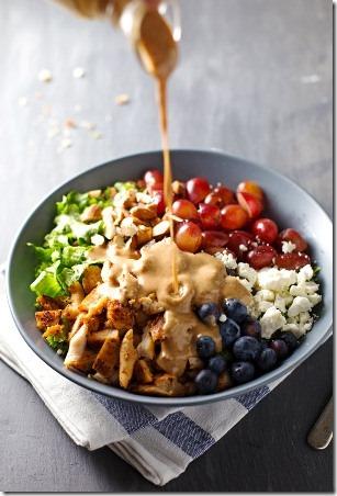 Rainbow Chicken Salad from Pinch of Yum