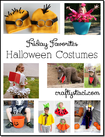 Halloween Costumes - Crafty Staci's Friday Favorites