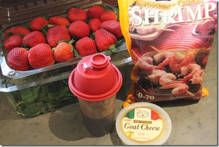 Sugared Pecans and Strawberry Spinach Salad - Crafty Staci 2