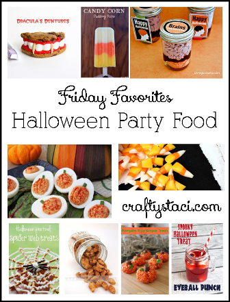 Halloween Party Food - Crafty Staci's Friday Favorites