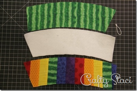 Rainbow Coffee Sleeve - Crafty Staci 5