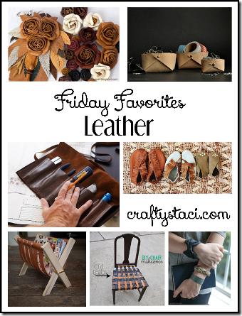 皮革-Crafty Staci的星期五收藏夹