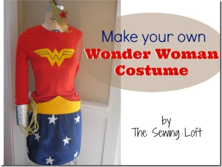 缝纫阁楼让您自己的神奇女侠服装