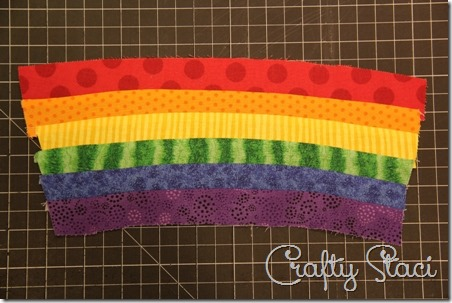Rainbow Mug Mat - Crafty Staci 3
