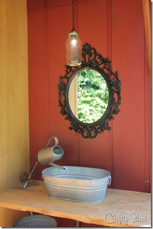 Outdoor Wedding Bathroom - Crafty Staci 5