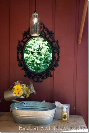 Outdoor Wedding Bathroom - Crafty Staci 7