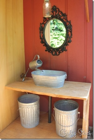 Outdoor Wedding Bathroom - Crafty Staci 8
