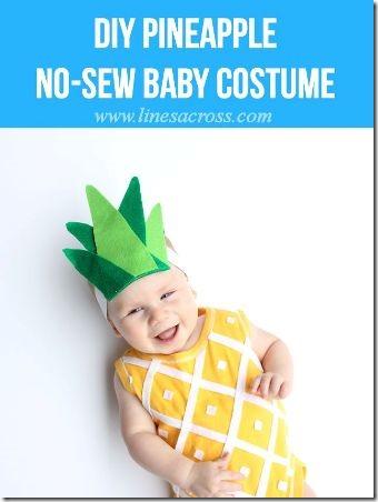 跨行的菠萝Onesie服装