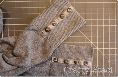 Adding Detail to Spring Sweater - Crafty Staci 7