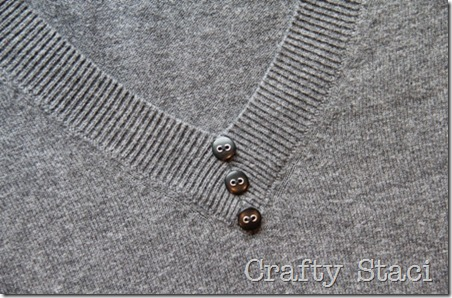 Adding Detail to Spring Sweater - Crafty Staci 8