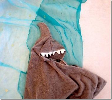 鲨鱼连帽衫毛巾足够狡猾