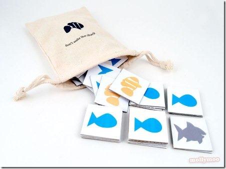 鲨鱼匹配比赛由Molly Moo Crafts