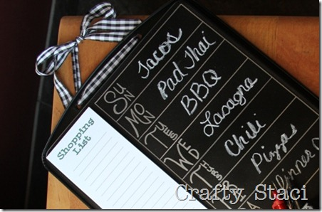 Cookie Sheet Kitchen Command Center - Crafty Staci 11