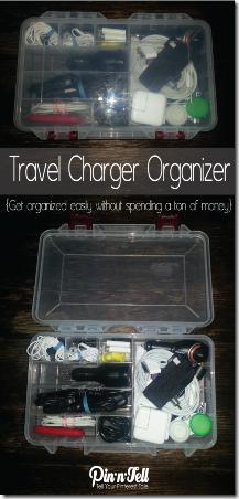 来自PIC-N-STRET的旅行充电器组织者