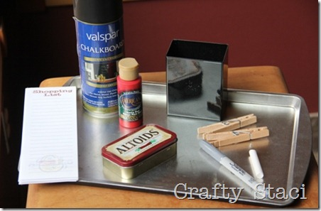 Cookie Sheet Kitchen Command Center - Crafty Staci 1