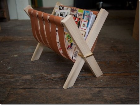 Sling Magazine Rack by Design Sponge