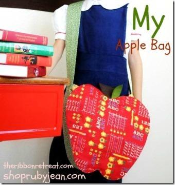 The Ribbon Retreat的Apple Bag
