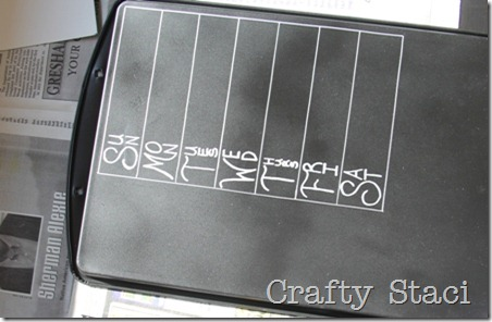 Cookie Sheet Kitchen Command Center - Crafty Staci 6