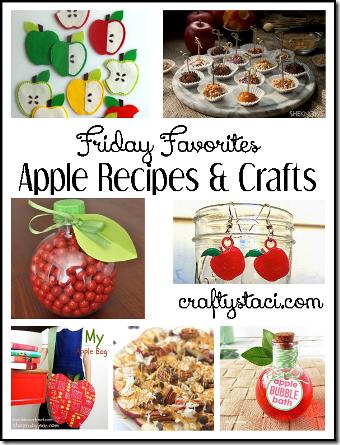 苹果食谱和手工艺品-Crafty Staci的星期五收藏夹