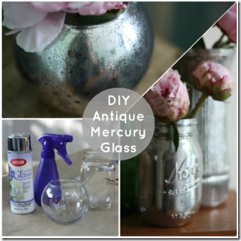 DIY Antique Mercury Glass