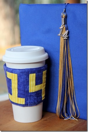 Class of '14 Coffee Sleeve - Crafty Staci 1