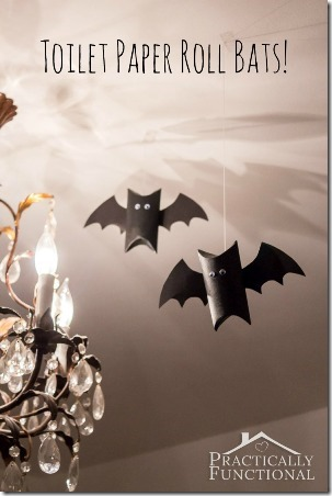 Toilet Paper Roll Bats by Practically Functional