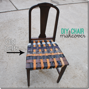 由爱创作所节省的编织带座椅