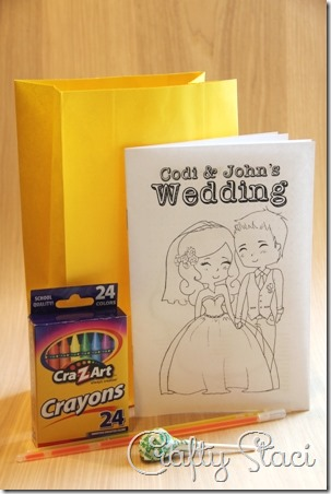 Kids Wedding Coloring Book - Crafty Staci 9