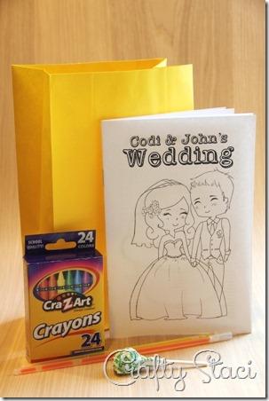 儿童婚礼着色书 - 狡猾的Staci 9