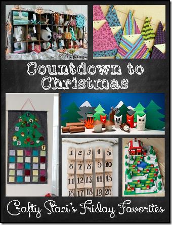 圣诞节倒计时-Crafty Staci的星期五收藏夹