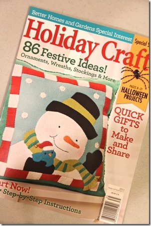 Holiday Crafts Magazine - Crafty Staci 1