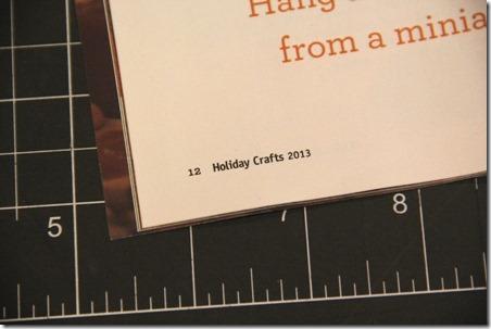 Holiday Crafts Magazine - Crafty Staci 2